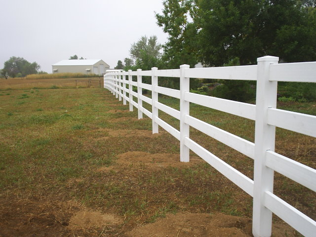Ranch Rails Fence